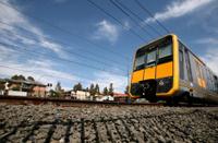 City Rail Train Leaving Westmead Station