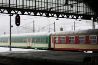 Main Railway Station in Wroclaw, Poland