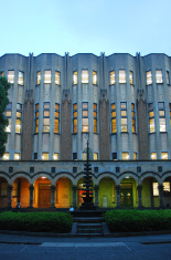 Tokyo University Library at Dusk