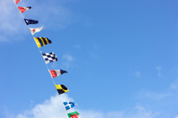Signal and National Flags