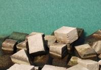Concrete Blocks by Sea