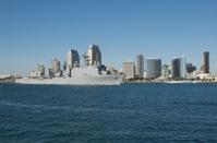 Warship Returns to Port