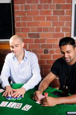 Poker Game Series: All In (Copyspace)