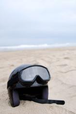 Helmet In The Sand
