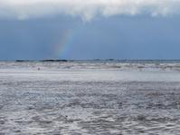 Rainbow in the Irish sea