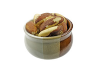 Brasil nuts in a bowl