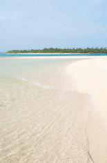 clear water sand beach
