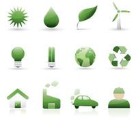 ecology icon set, two