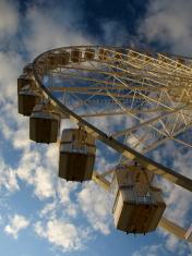 Ferris wheel,Jersey.