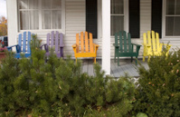 Adirondack Chair Rainbow