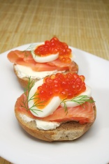 Caviar Canapes