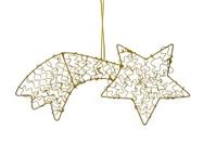 Wire Christmas shooting star