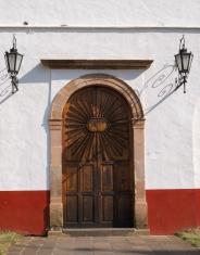 Old Door in Patzcuaro Mexico.