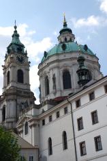 Ornate buildings In Prague