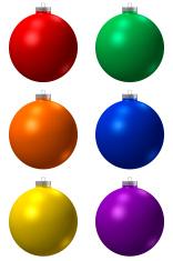 Colcorful Christmas Ball
