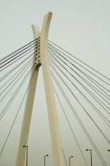 Bridge, Light Posts Abstract