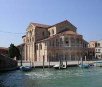 Murano Church, Venetian lagoon.