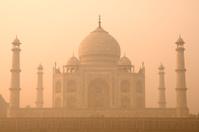 Taj Mahal sunrise