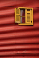 Typical house in La Boca, Buenos Aires (Argentina)