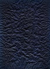 Vintage Black Crumpled Paper Texture XXXL