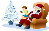 Santa Claus & Game Kid