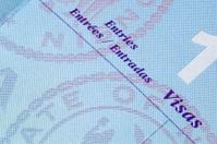 American passport inside page
