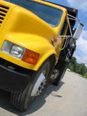 yellow dump truck 2