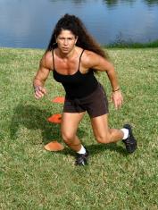 Women's Fitness Backyard Workout