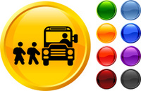 school bus stop internet royalty free vector art