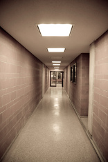Brick Walled Corridor