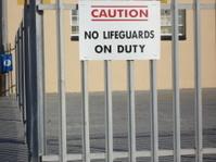 Lifeguard Sign