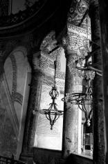 Hagia Sophia, Lanterns BW