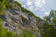 Wall of rocks