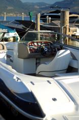 Boat in Marina
