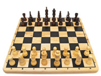 chess-board and chess