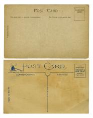 Vintage postcards (XXXL)