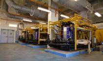 Two Diesel Power Generators in Industrial Facility