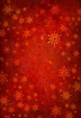 grunge red snowy background