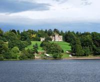 Small castle in Scotland