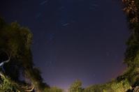 Fisheye Night Time Star Trails