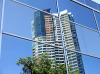 Reflection of a Modern building