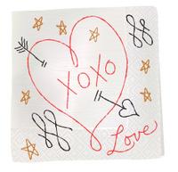 Napkin Sketch - Love Note