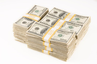 Cash money . Dollars, finance, banking, business concept.