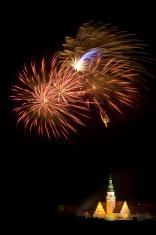 Firework display in Olsztyn #2