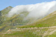 Fog at pass