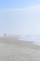 Foggy Day By The Sea
