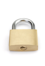 Closed padlock series