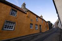 the picturesque hamlet of Culross, Scotland.