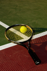 Ball Underneath Racquet