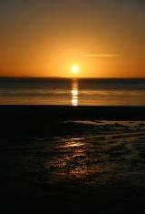 Sunset Reflected in Ocean
